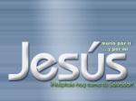 Jesus Murio por mi